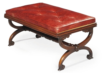 AN EARLY VICTORIAN ROSEWOOD LA