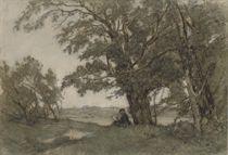 Painting in the dunes of Scheveningen