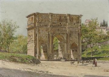 Arco di Costantino Roma: a her