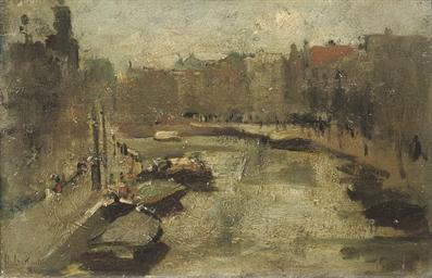 Stadsgezicht Amsterdam: a cana