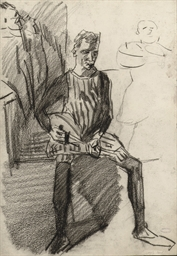 A mandoline player