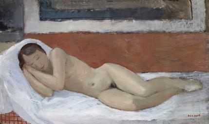 Nu se reposant: reclining nude