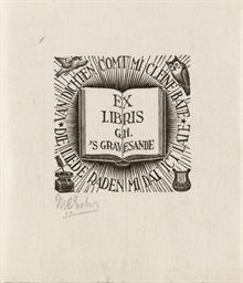 Ex-Libris G.H. 's Gravensande