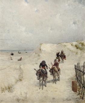 JAN VERHAS ( 1834-1896) D5211489l