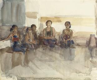 Javaansche danseressen: Javane