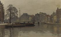 Houses along the Oude Waal, Amsterdam