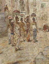 Engelsch Indie: Balinese women