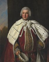 Portrait of John Bligh, 3rd Earl of Darnley (1719-1781), three-quarter-length, in peer's robes