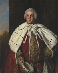 Portrait of John Bligh, 3rd Ea