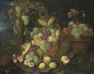 Grapes, nectarines, peaches, p