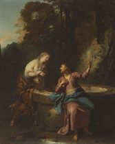 Christ with the Woman of Samaria