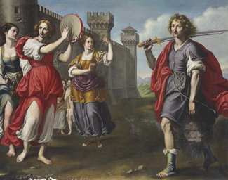 The Triumph of David