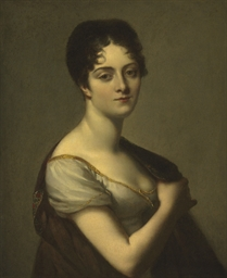A portrait of Marie Adrienne H