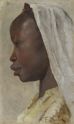Profile of a Nubian girl