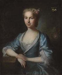 Portrait of Agnes Fytche, half