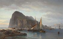 Shipping off Gibraltar