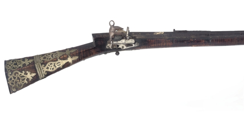 A TURKISH MIQUELET-LOCK RIFLE