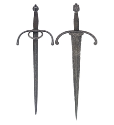 A GERMAN LEFT-HAND DAGGER WITH