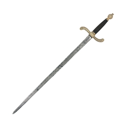 A GERMAN BEARING-SWORD