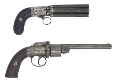 A MARIETTE PATENT FIVE-SHOT PE