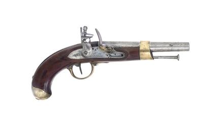 A FRENCH FLINTLOCK AN.XIII CAV