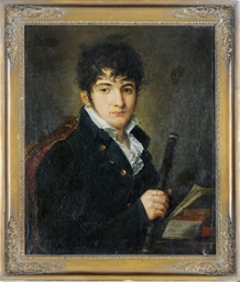 Portrait of a young composer w