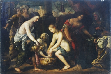 The Bath of Diana