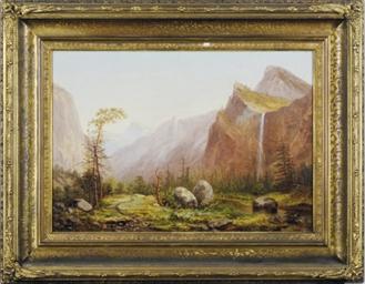 Bridal Veils Falls, Yosemite P