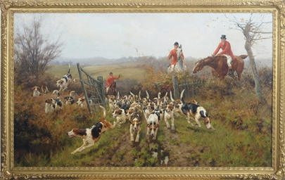 Foxhounds on the scent