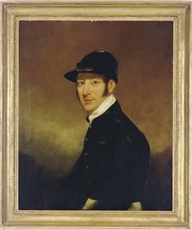 Portrait of the jockey William
