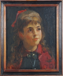 Portrait of Edith Mosler, the