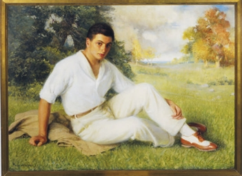 Portrait of a young man in his