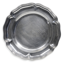 FOUR CONTINENTAL SILVER PLATES