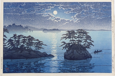 A JAPANESE PRINT BY KAWASE HAS
