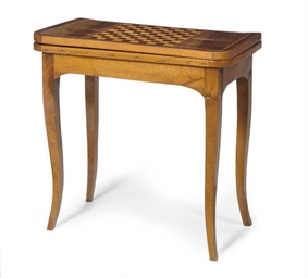 A FRENCH FRUITWOOD AND ROSEWOO