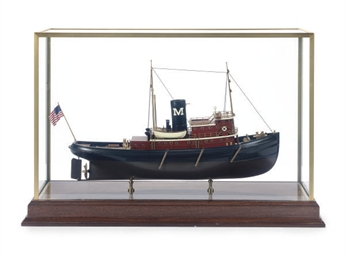 A MODEL OF A TUGBOAT,
