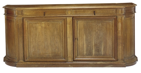 A FRENCH OAK BUFFET,