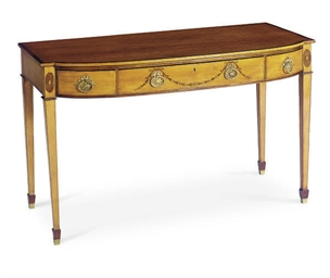 A GEORGE III SATINWOOD AND MAR