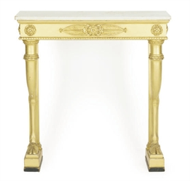 A CONTINENTAL GILTWOOD AND WHI