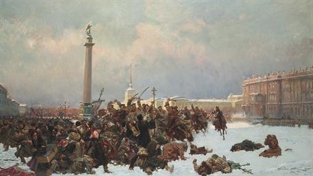 Bloody Sunday in St. Petersbur