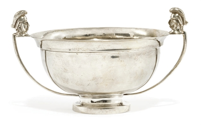 A RUSSIAN SILVER SUGAR BOWL