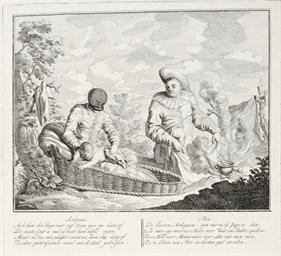 AMSTERDAM c. 1740 -- XAVERY, G