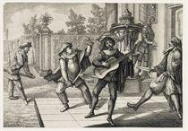 AUGSBURG 1729 -- [SCHÜBLER, Johann Jakob (d 1741) Amor, vehe