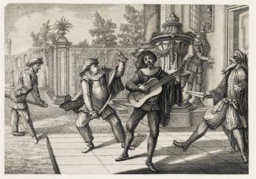 AUGSBURG 1729 -- [SCHÜBLER, Jo