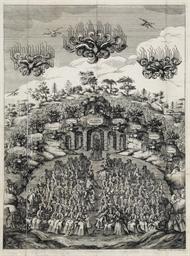 FERRARA 1704 -- Adunanza de' p