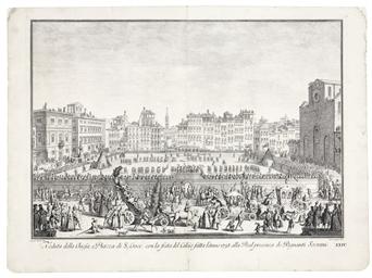 FLORENCE 1738 -- [PRINTS]. ZOC
