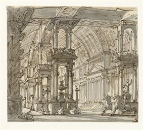 ITALY ca 1750 -- GALLIARI, Att