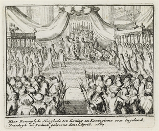 LONDON 1689 -- DANCKERTS, Corn