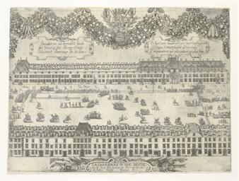 NANCY ca 1650 -- [PRINT]. DERU