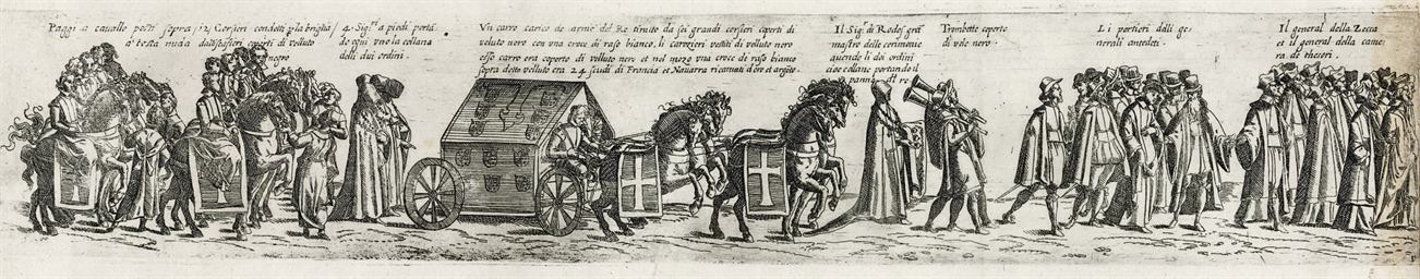 PARIS 1610 -- [PRINT]. Pompa f